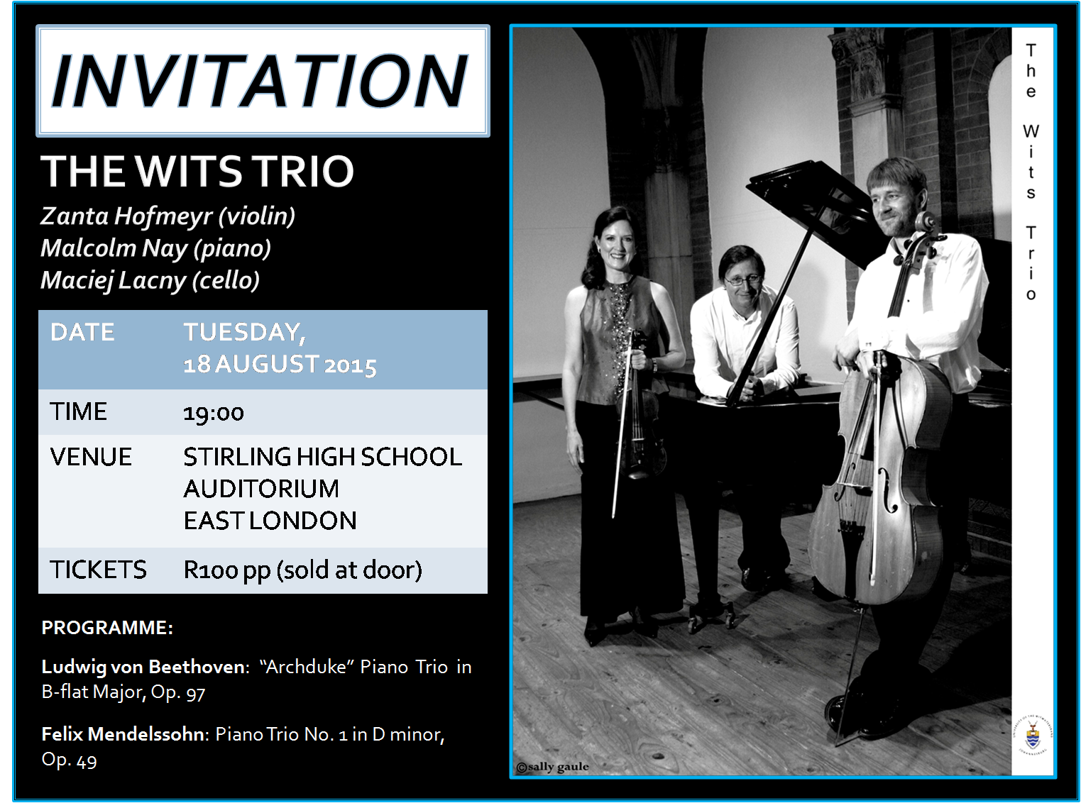 WITS TRIO INVITE
